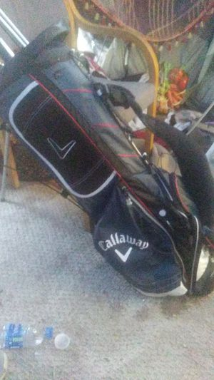 Callaway golf bag with full set of clubs for Sale in Seattle, WA