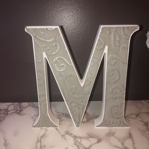 Letter M room decor for Sale in St. Peters, MO