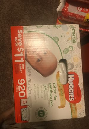 Huggies wipes for Sale in San Antonio, TX