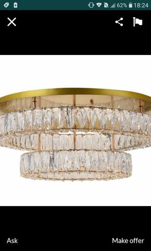 New Gold Chandelier for Sale in Houston, TX
