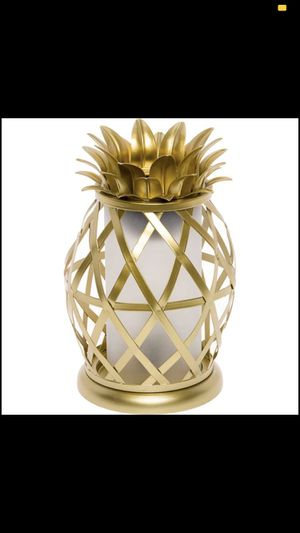 Mindful Design NEW Golden Pineapple Wax Warmer Home Fragrance Table Decor (Gold) for Sale in Fresno, CA