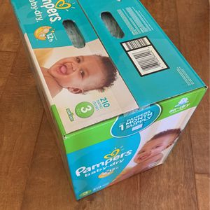 Pampers Baby Dry 210 CT #3 for Sale in Chula Vista, CA