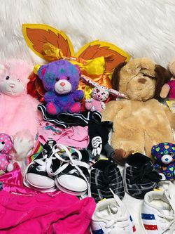Giant Build a Bear Plush + Bab Clothes for Sale in Largo,  FL