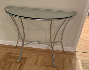 Entry glass table for Sale in Turlock, CA