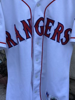 Baseball Jersey Texas Rangers . Original Diamond Collection Russel Made In the USA Equipment Bats Gloves for Sale in Los Angeles,  CA