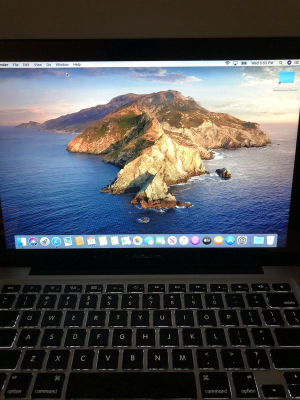 Apple MacBook Pro Works Great MAC OS Catalina