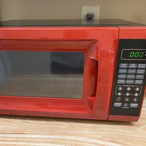 Red microwave for Sale in Sarasota, FL