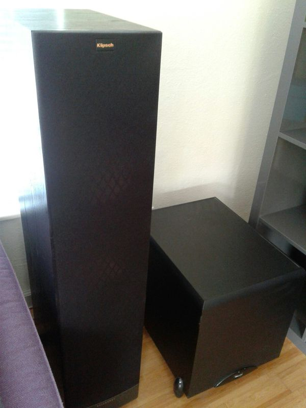 Marantz Stereo w/Klipsch Speakers and sub (3 more days)