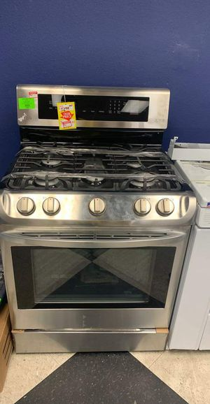 NEW LG LRG3085ST GAS STOVE with warranty BPH for Sale in Beverly Hills, CA