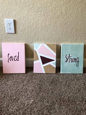 Canvas paintings for Sale in Lakeland, FL
