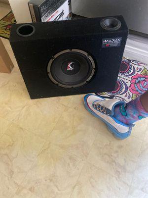 Kicker speaker for Sale in Chula Vista, CA