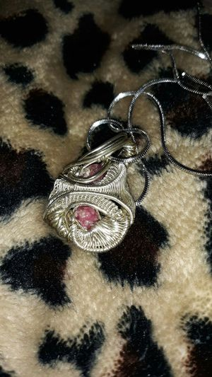 Wire wrap with sterling silver for Sale in Pekin, IL
