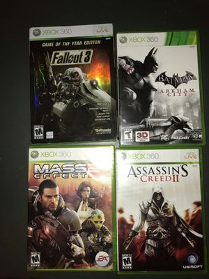 Xbox 360 games for Sale in New York, NY