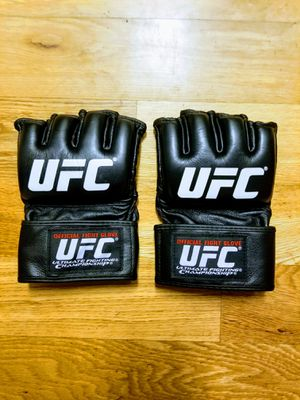 Men's Black UFC Official Fight Night Gloves Small for Sale in New York, NY