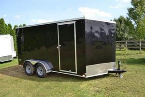 New!!7x16 Enclosed Trailer Special Price Free Delivery this week only!! for Sale in Savannah, GA