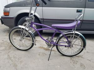 Bike lowrider banana seat for Sale in Long Beach, CA