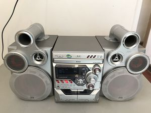 JVC MX-GT700 Tube Stereo System 3-CD, FM/AM Radio, Dual Cassette & AUX Input for Sale in Chicago, IL