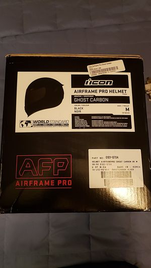 ICON Air frame pro Carbon helmet for Sale in Bedford Park, IL