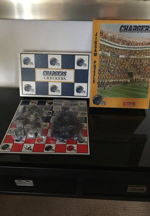 Chargers game and puzzle. for Sale in National City, CA
