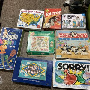 Board Games Lot for Sale in Spring Valley, CA