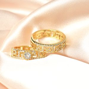 Inspired Design Ring 18k Gold Plated Brass Ring for Sale in Los Angeles, CA