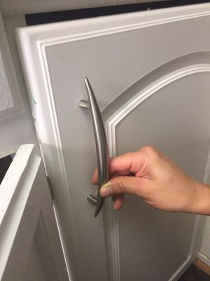 """7"""" stainless steel handles/pulls for kitchen and bath cabinets for Sale in Houston, TX"""