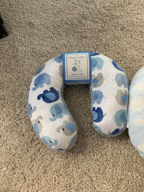 Baby travel neck pillows
