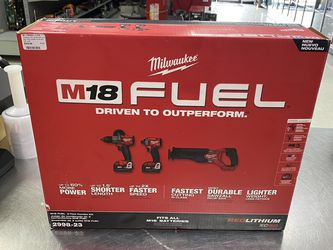 Milwaukee 3pc Tool Set M18 Brushless for Sale in Orlando,  FL