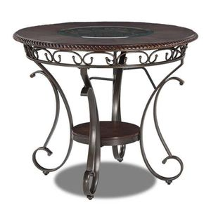 Ashley Furniture Glambrey - Brown Round Dining Room Counter Table for Sale in Coachella, CA