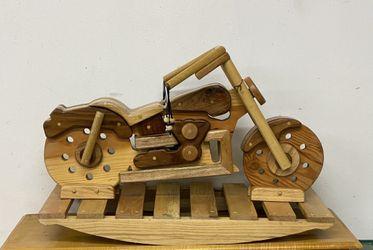 Wood Custom Rocking motorcycle for Sale in Sunnyside,  WA