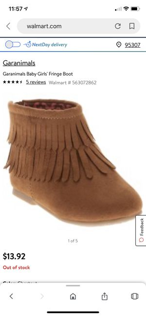 Fringe boot for Sale in Ceres, CA