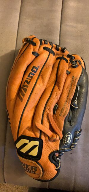 "Mizuno 11"" MMX 110P Power Close Baseball Glove Ballpark Series Leather Mitt LHT for Sale in Pittsburgh, PA"