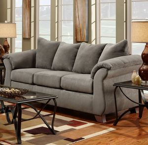 Couch set stone gray originally 1200 for Sale in NO BRENTWOOD, MD