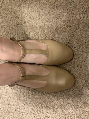 Capezio tan dance shoes 7.5 for Sale in Winter Garden, FL