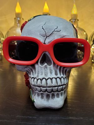 RETRO Squared RocknRoll Sunglasses Black lenses Matte RED Frames for Sale in Long Beach, CA