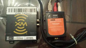 XM radio adapter w/ adapter for kenwood stereo for Sale in Ciudad Juárez, MX