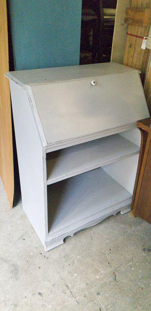 Desk grey w/ reclaimed wood for Sale in Bonney Lake, WA