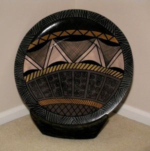 Decorative Ceramic Plate with Stand for Sale in Redmond, WA