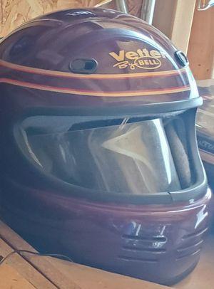Vintage Large Bell Vetter motorcycle helmet. Needs windshield visor clips for Sale in Morton Grove, IL