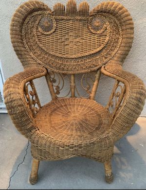 Vintage Peacock Chair for Sale in Los Angeles, CA