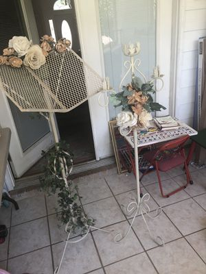 Bookstand and candelabra for Sale in Baytown, TX