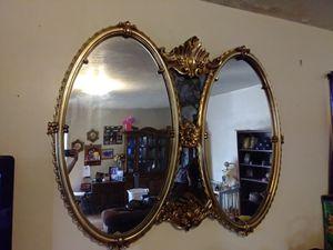 Large wall mirror- unique for Sale in San Bernardino, CA
