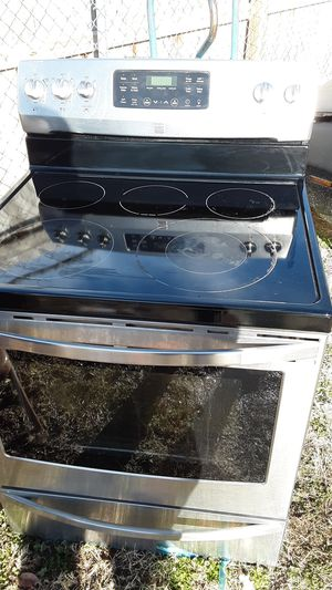 Kenmore glass top burn resistant stove for Sale in Wichita, KS