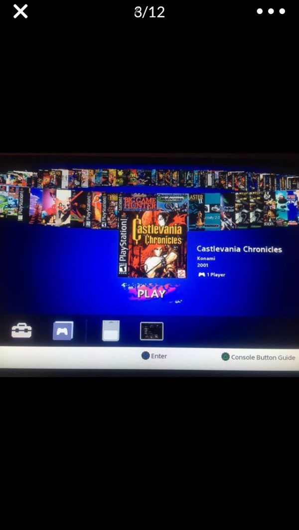Play Station 1 Mini Classic Modded 101 Games!! 720p