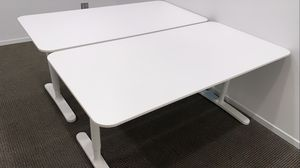 White Office desk, great condition for Sale in Palos Verdes Peninsula, CA