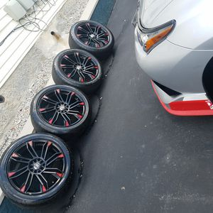 Rims and tire set 19/ 225 / 50 for Sale in Cambridge, MA