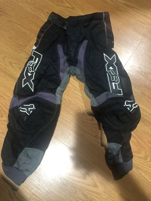 Kids Dirt Bike Riding Gear (pants, shirts, gloves, googles, chest protection) for Sale in La Mirada, CA
