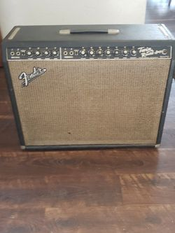 Blackface Fender twin Reverb in excellent condition for Sale in Trenton,  NJ