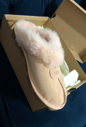 Used, Ugg Slippers for sale  peach pink Color Size 7 for Sale
