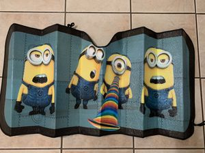 Minion Windshield Hear Reflector for Sale in Clearwater, FL
